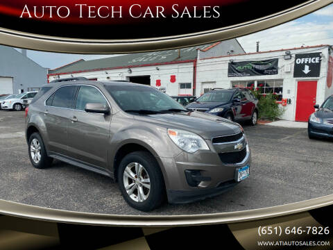 2010 Chevrolet Equinox for sale at Auto Tech Car Sales in Saint Paul MN