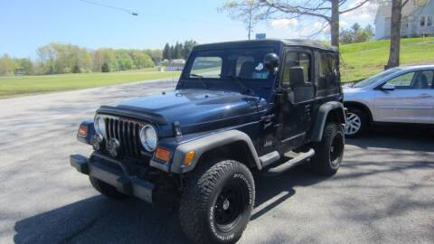 2000 Jeep Wrangler for sale at Auto Outlet of Morgantown in Morgantown WV