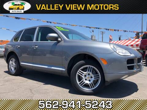 2006 Porsche Cayenne for sale at Valley View Motors in Whittier CA