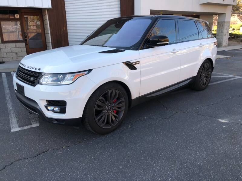 2017 Land Rover Range Rover Sport for sale at Inland Valley Auto in Upland CA