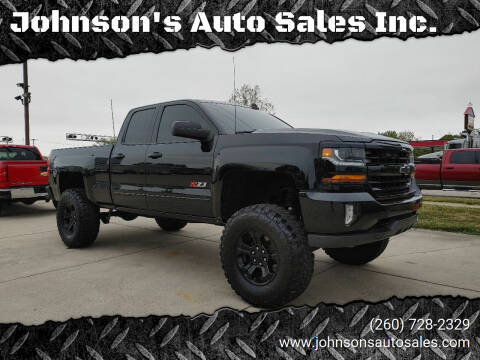 2016 Chevrolet Silverado 1500 for sale at Johnson's Auto Sales Inc. in Decatur IN