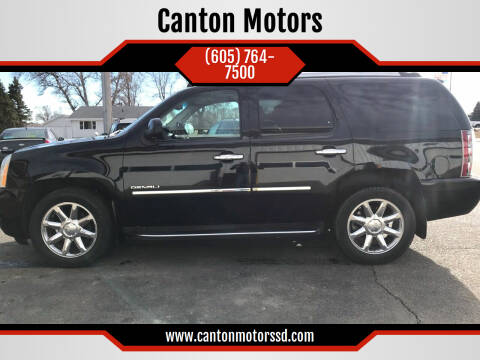 2010 GMC Yukon for sale at Canton Motors in Canton SD