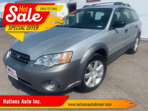 2007 Subaru Outback for sale at Nations Auto Inc. in Denver CO