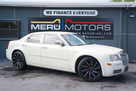 2010 Chrysler 300 for sale at Meru Motors in Hollywood FL
