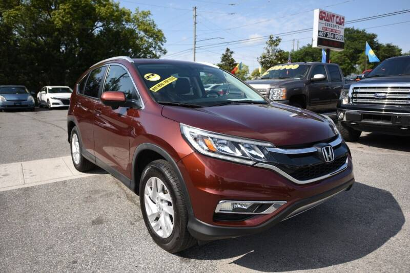 2015 Honda CR-V for sale at Grant Car Concepts in Orlando FL