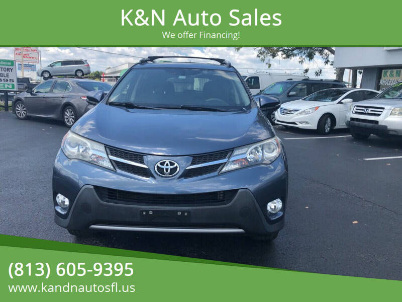 2013 Toyota RAV4 for sale at K&N Auto Sales in Tampa FL