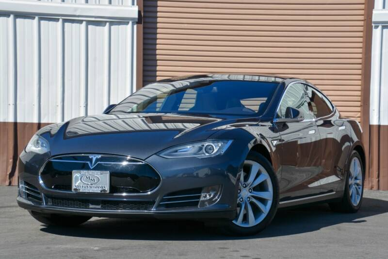 2016 Tesla Model S for sale at Milpas Motors in Santa Barbara CA