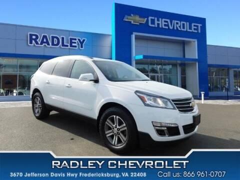 2017 Chevrolet Traverse for sale at Radley Cadillac in Fredericksburg VA