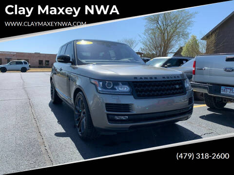 2017 Land Rover Range Rover for sale at Clay Maxey NWA in Springdale AR
