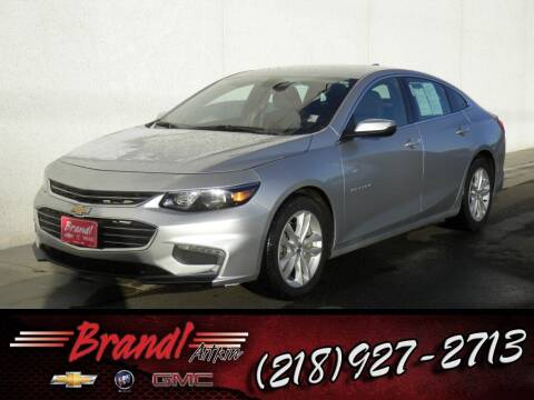 2016 Chevrolet Malibu for sale at Brandl GM in Aitkin MN