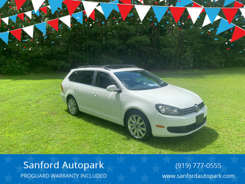 2013 Volkswagen Jetta for sale at Sanford Autopark in Sanford NC