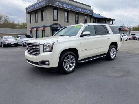 2015 GMC Yukon for sale at Sisson Pre-Owned in Uniontown PA