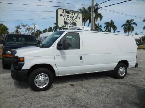 2012 Ford E-Series Cargo for sale at Aubrey's Auto Sales - Vans in Delray Beach FL