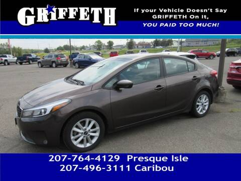 2017 Kia Forte for sale at Griffeth Mitsubishi - Pre-owned in Caribou ME