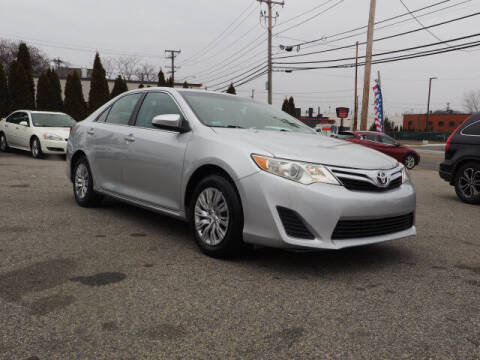 2012 Toyota Camry for sale at East Providence Auto Sales in East Providence RI