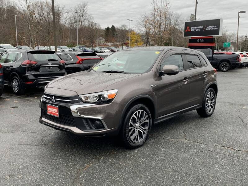 2018 Mitsubishi Outlander Sport for sale at Midstate Auto Group in Auburn MA