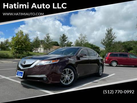 2010 Acura TL for sale at Hatimi Auto LLC in Buda TX