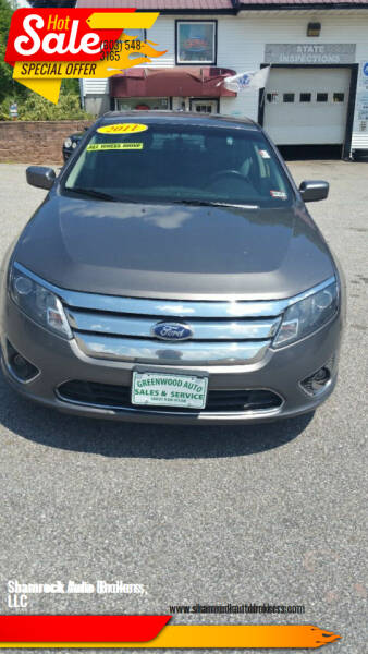 2011 Ford Fusion for sale at Shamrock Auto Brokers, LLC in Belmont NH
