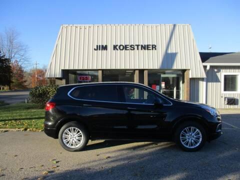 2017 Buick Envision for sale at JIM KOESTNER INC in Plainwell MI