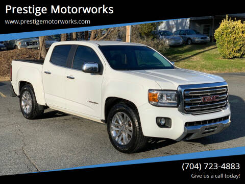 2016 GMC Canyon for sale at Prestige Motorworks in Concord NC