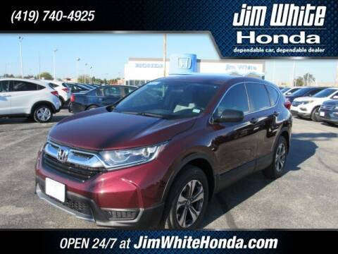 2018 Honda CR-V for sale at The Credit Miracle Network Team at Jim White Honda in Maumee OH