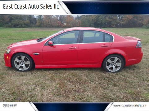 2008 Pontiac G8 for sale at East Coast Auto Sales llc in Virginia Beach VA