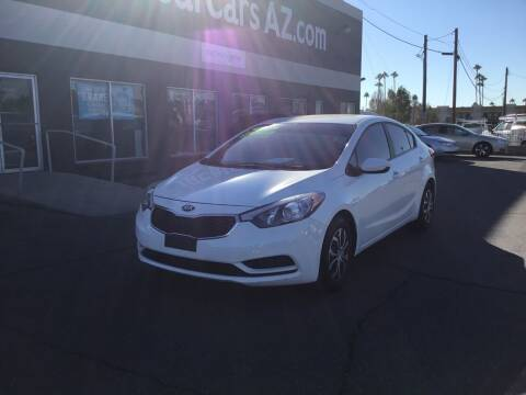 2016 Kia Forte for sale at Ideal Cars Broadway in Mesa AZ