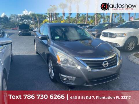 2013 Nissan Altima for sale at AUTOSHOW SALES & SERVICE in Plantation FL