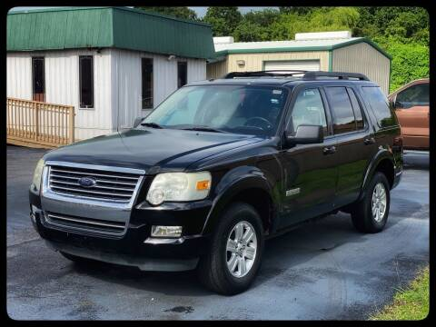 2008 Ford Explorer for sale at ASTRO MOTORS in Houston TX