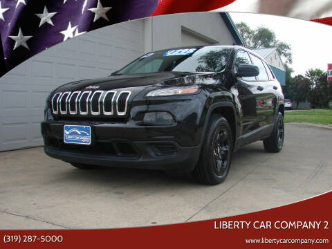 2014 Jeep Cherokee for sale at Liberty Car Company - II in Waterloo IA