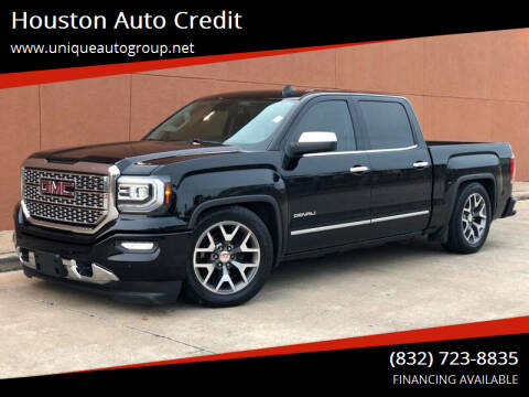 2017 GMC Sierra 1500 for sale at Houston Auto Credit in Houston TX