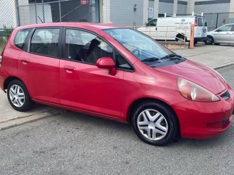 2007 Honda Fit for sale at O A Auto Sale in Paterson NJ