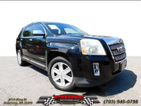 2010 GMC Terrain for sale at PRIME MOTORS LLC in Arlington VA