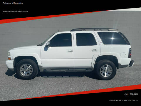 2005 Chevrolet Tahoe for sale at Automax of Frederick in Frederick MD