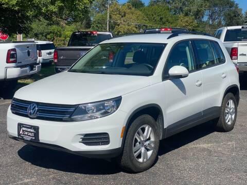 2017 Volkswagen Tiguan for sale at North Imports LLC in Burnsville MN