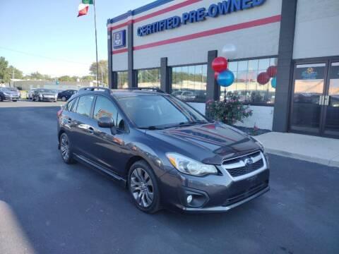 2012 Subaru Impreza for sale at Ultimate Auto Deals DBA Hernandez Auto Connection in Fort Wayne IN