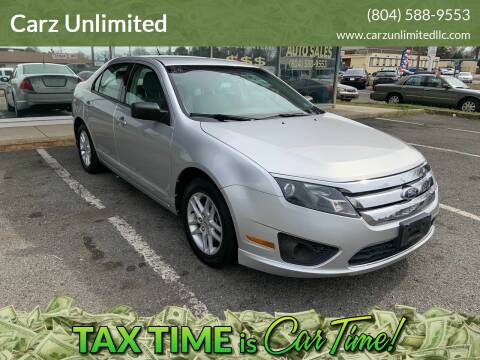 2011 Ford Fusion for sale at Carz Unlimited in Richmond VA