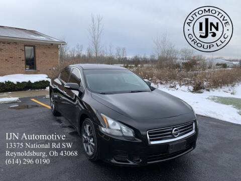 2012 Nissan Maxima for sale at IJN Automotive Group LLC in Reynoldsburg OH
