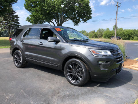 2018 Ford Explorer for sale at Fox Valley Motorworks in Lake In The Hills IL
