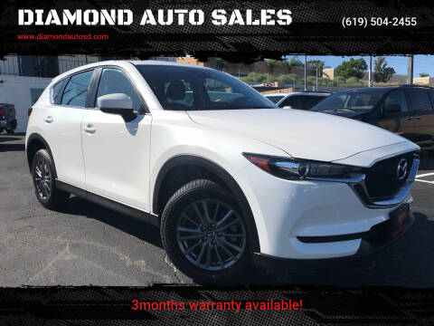2017 Mazda CX-5 for sale at DIAMOND AUTO SALES in El Cajon CA