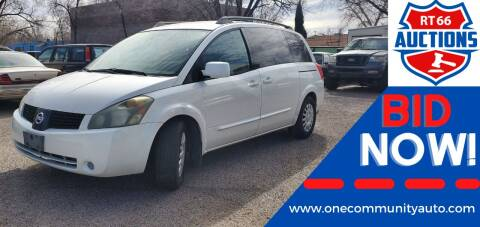 2006 Nissan Quest for sale at One Community Auto LLC in Albuquerque NM