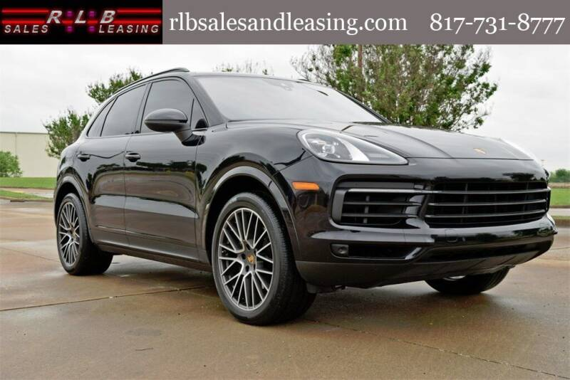 2020 Porsche Cayenne for sale at RLB Sales and Leasing in Fort Worth TX