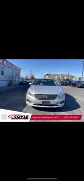 2016 Hyundai Sonata for sale at COYLE GM - COYLE NISSAN - New Inventory in Clarksville IN