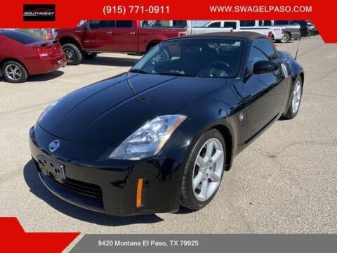 2005 Nissan 350Z for sale at SOUTHWEST AUTO GROUP-EL PASO in El Paso TX