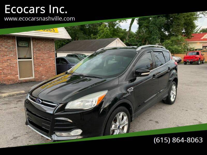 2014 Ford Escape for sale at Ecocars Inc. in Nashville TN