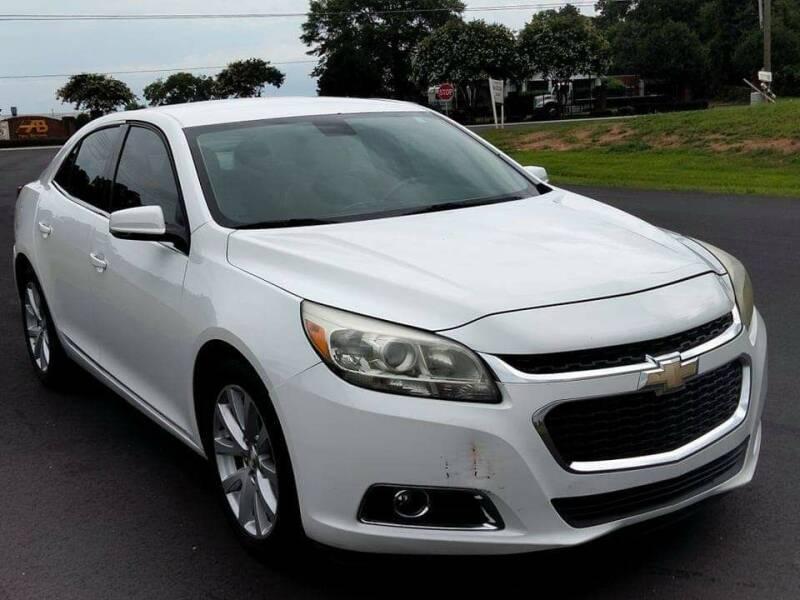 2014 Chevrolet Malibu for sale at Happy Days Auto Sales in Piedmont SC