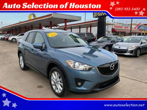 2014 Mazda CX-5 for sale at Auto Selection of Houston in Houston TX