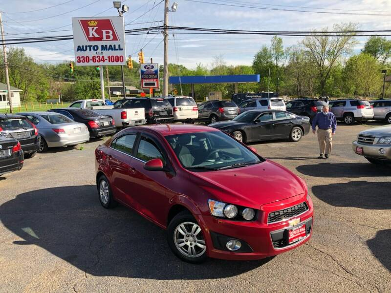 2013 Chevrolet Sonic for sale at KB Auto Mall LLC in Akron OH