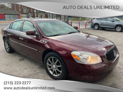 2006 Buick Lucerne for sale at AUTO DEALS UNLIMITED in Philadelphia PA