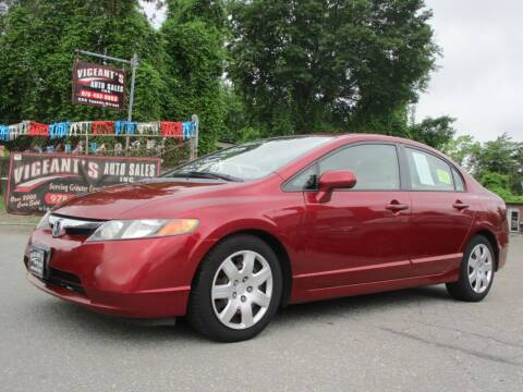 2006 Honda Civic for sale at Vigeants Auto Sales Inc in Lowell MA